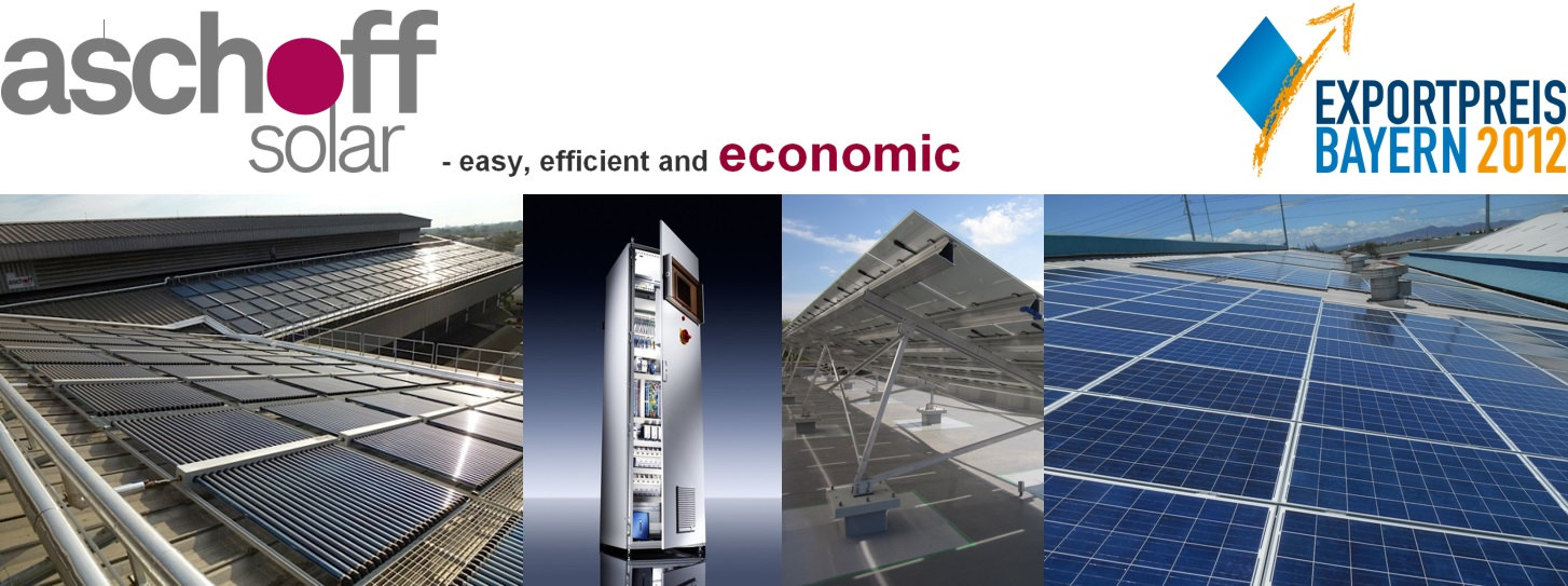 Aschoff Solar - easy, efficient & economic